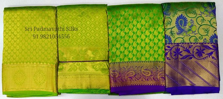 Move over red and pink, green is making bridal statements! Kancheepuram handloom pure silk bridal brocade wedding saris for the bride on her special day! Book now 91 9821054556 www.sripadmavathisilks.com Sri Padmavathi Silks, the only South Indian store in Dombivli, India. Kancheepuram handloom pure silk bridal brocade wedding saris shop in Mumbai, Maharashtra. Shop for your wedding - from bridal wear to gifting with us. All credit and debit cards accepted. International shipping available.