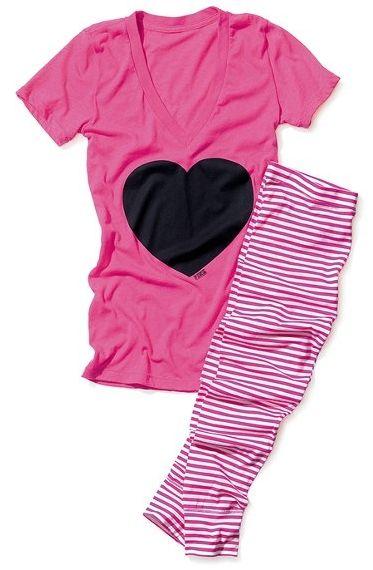 Victorias Secret jammies ..... Love them !