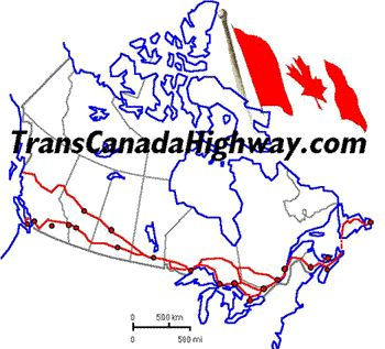 The Trans-Canada Highway between Victoria (BC) and St. John's (NF) is the world's longest national highway with a length of 7,821 km (4,860 mi).