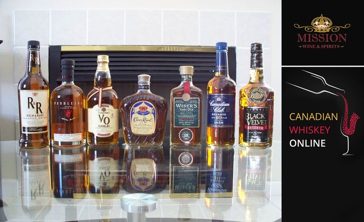 Canadian Whiskey Online _ Mission Liquor is the premier online wine and spirits store in Southern California.