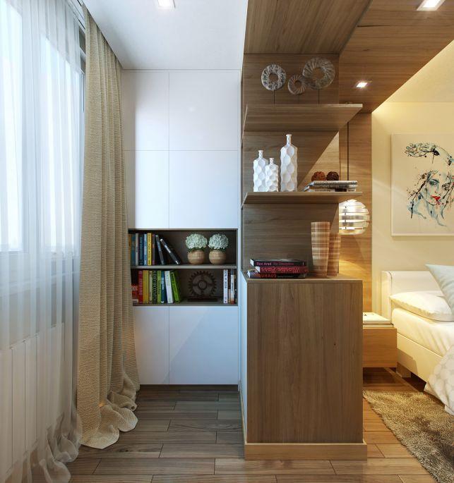 Amenajarea unui dormitor extins in balcon- Inspiratie in amenajarea casei - www.povesteacasei.ro