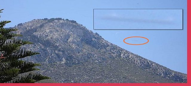 AWAKENING FOR ALL: Top Secret Cigar Shaped UFO Spotted Over the Islan...