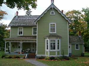 Norman Bethune's birthplace in Gravenhurst, Ontario. It is now The Bethune Memorial House, a National Historic Site administered by Parks Canada.