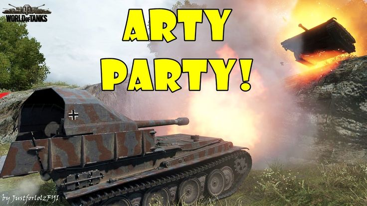 World of Tanks - Funny Moments | ARTY PARTY #14