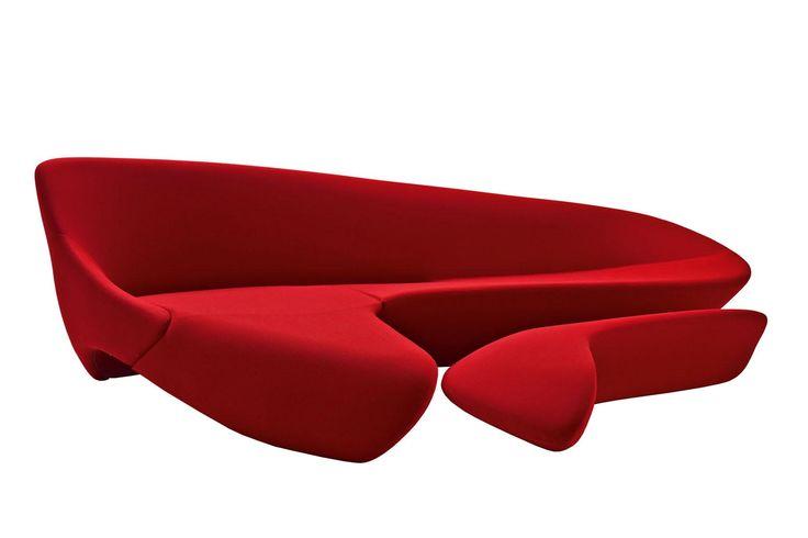 Moon System Sofa by Zaha Hadid for B&B Italia | Space Furniture