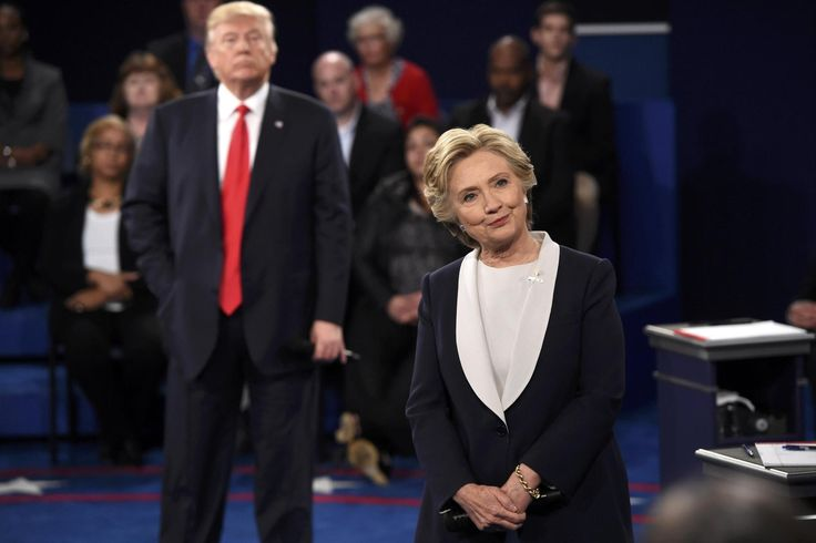 """If Hillary Clinton weren't married to the man Monica Lewinsky called """"the Big Creep"""", she might have been able to properly weaponise Donald Trump's sex tapes in last night's debate."""