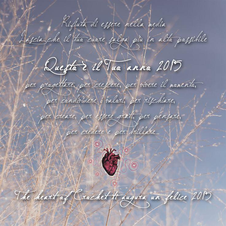 Per conoscere tutte le novità del 2015 continuate a seguire The heart of Crochetsul blog, sullapagina facebook, nel negozio online, su twittere le mie bacheche ricche di idee su pinterest! &nbsp...