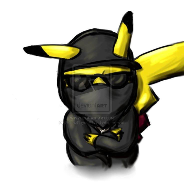 Hollywood Undead Pikachu by FullElven on DeviantArt