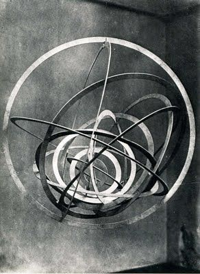 Rodchenko metal sculpture