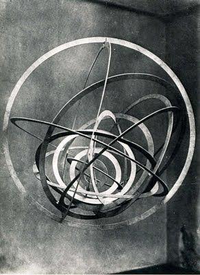 Rodchenko metal sculpture