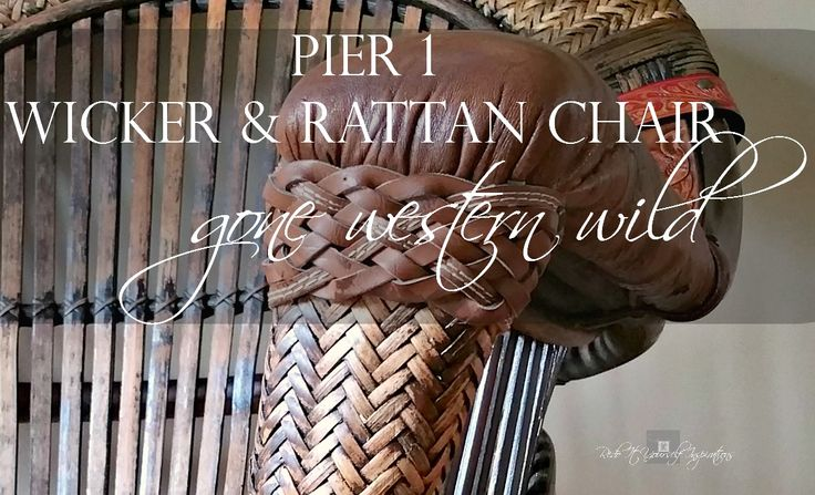 Pier 1 Wicker and Rattan Chair Makeover | Redo It Yourself Inspirations : Pier 1 Wicker and Rattan Chair Makeover