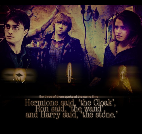 28 best images about harry potter on pinterest dark mark for The deathly hallows wand