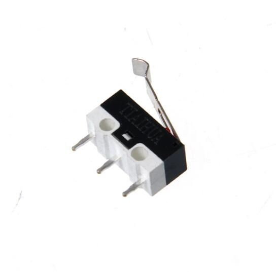 10pcs Limit Microswitch With Three Straight Legs Mouse Side Key Momentary Micro Limit Switch 1a