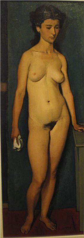 Yiannis Moralis - Nude Standing