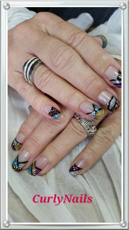 250 best Curly Nails images on Pinterest