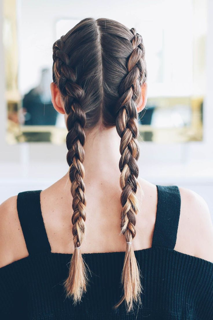 Dutch boxer braids / tutorial