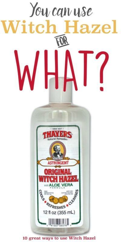 Do you have a bottle of witch hazel sitting unused in a closet somewhere? You should put that bottle to use! Witch hazel is a natural astringent with a lot of great health and beauty applications! Take...