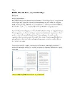 MGT322   MGT 322   Week 5 Assignment Final Paper --> http://www.scribd.com/doc/157681353/mgt322-mgt-322-week-5-assignment-final-paper