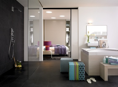 1000 ideen zu gro formatige fliesen auf pinterest badezimmer hausbau ideen und begehbare dusche. Black Bedroom Furniture Sets. Home Design Ideas