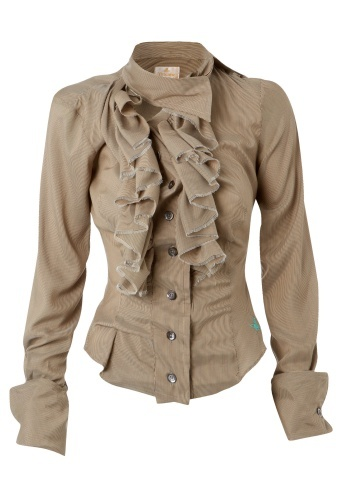 Vivienne Westwood Wizard Frill Shirt--LOVE!