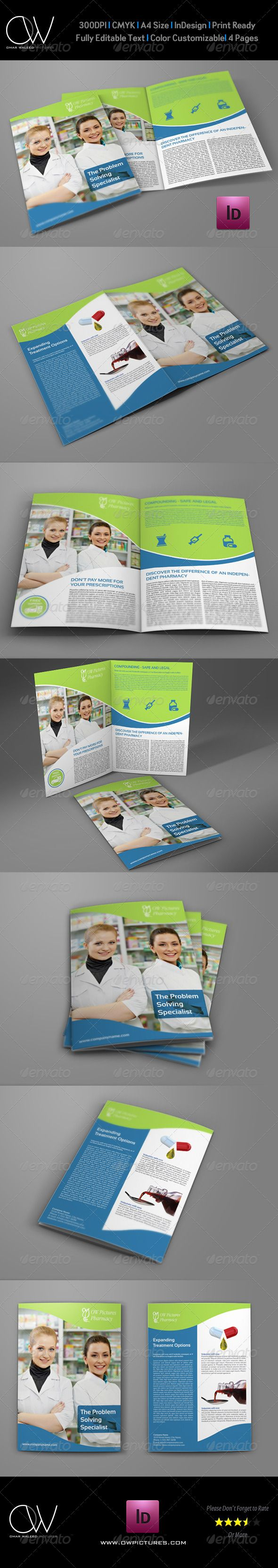 pharmacy brochure template free - 40 best top pharmacy brochure designs images on pinterest