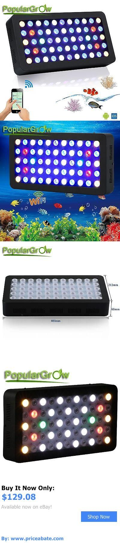 Animals Fish And Aquariums: Wifi Dimmable165w Led Aquarium Light Full Spectrum For Live Fish Tank Reef Coral BUY IT NOW ONLY: $129.08 #priceabateAnimalsFishAndAquariums OR #priceabate