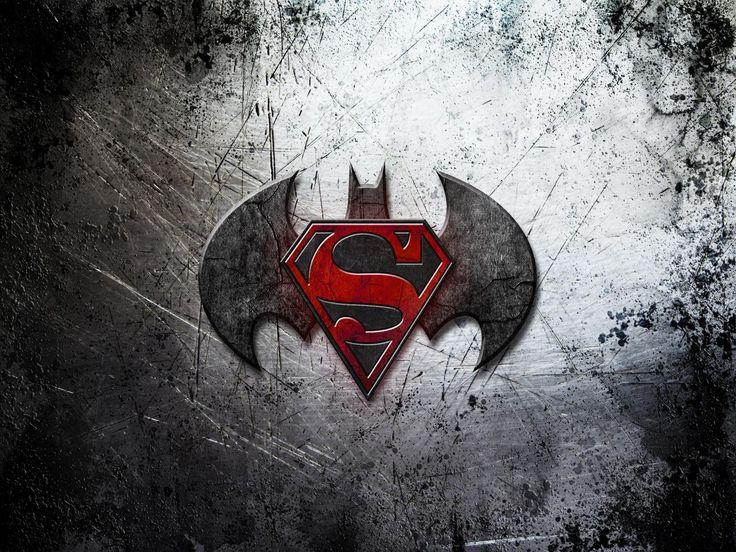 Batman Vs Superman Logo Wallpaper 3935