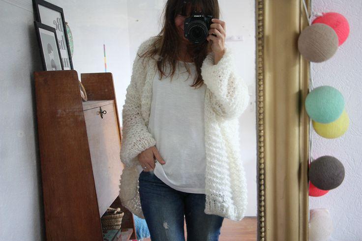 J'en rêvais depuis l'hiver dernier, depuis que je m'étais tricoté le pull Didi&Catcat. Je m'étais tout de suite dit qu'il me fallait un...