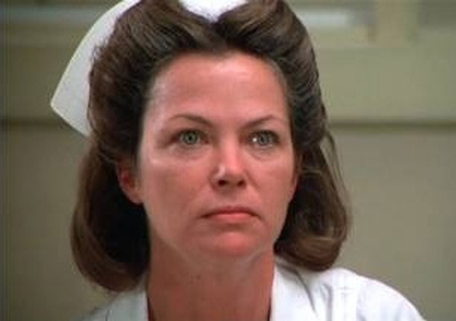 No one plays bitch like Louise Fletcher. Louise Fletcher is Nurse Ratched.