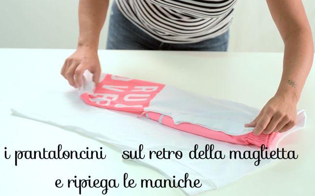Asciugamani, lenzuola, magliette: piegali e organizzali in modo furbo e veloce!