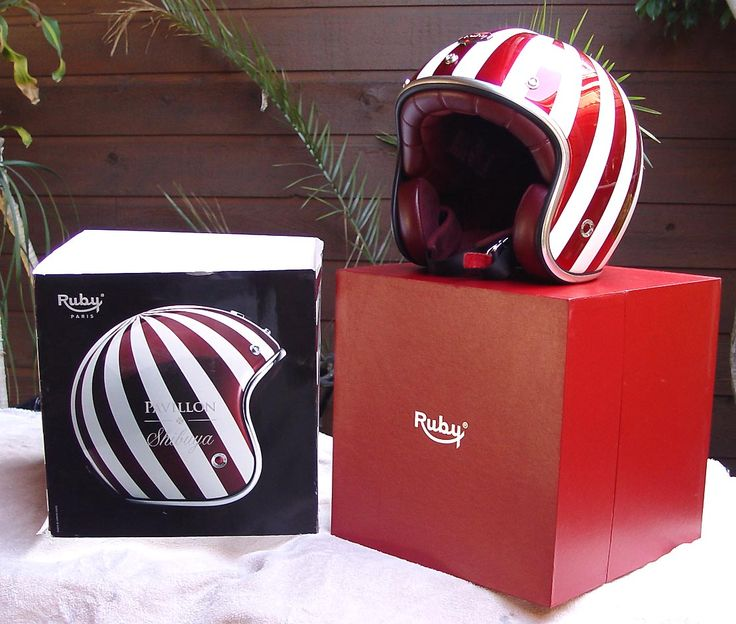 Image result for red ruby helmet box