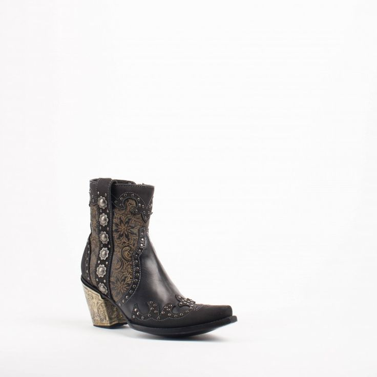 Women's Double D by Old Gringo San Antonio Boots Black