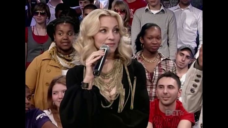 Madonna Interview BET 106 & Park 2008 (Complete)