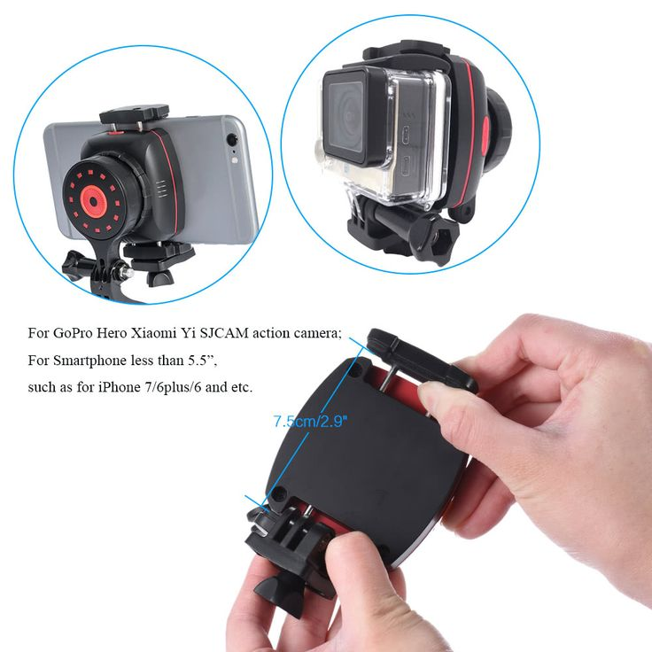 Wewow Sport X1 Wearable Single Axis Stabilizer Gimble for GoPro Sales Online black red - Tomtop