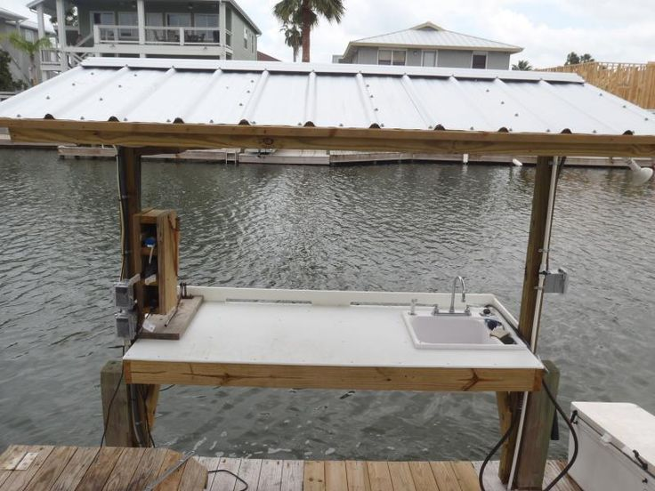 26 best images about fish station on pinterest tables for Homemade fish cleaning table