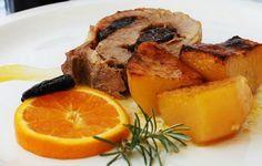 Χοιρινό ρολό με πορτοκάλι -κονιάκ και πατάτες φούρνου !!! ~ ΜΑΓΕΙΡΙΚΗ ΚΑΙ ΣΥΝΤΑΓΕΣ