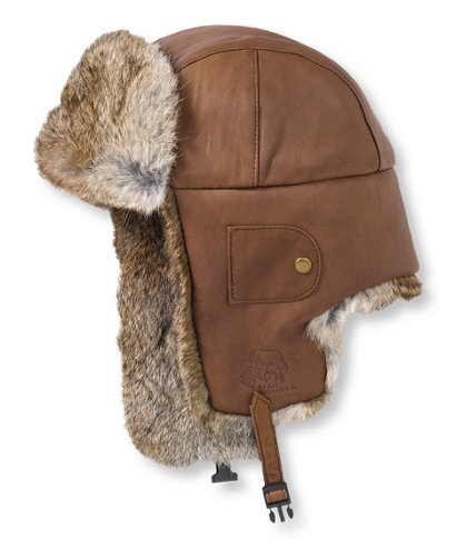 Mad Bomber Hat, Leather: Cold-Weather Hats   Free Shipping at L.L.Bean