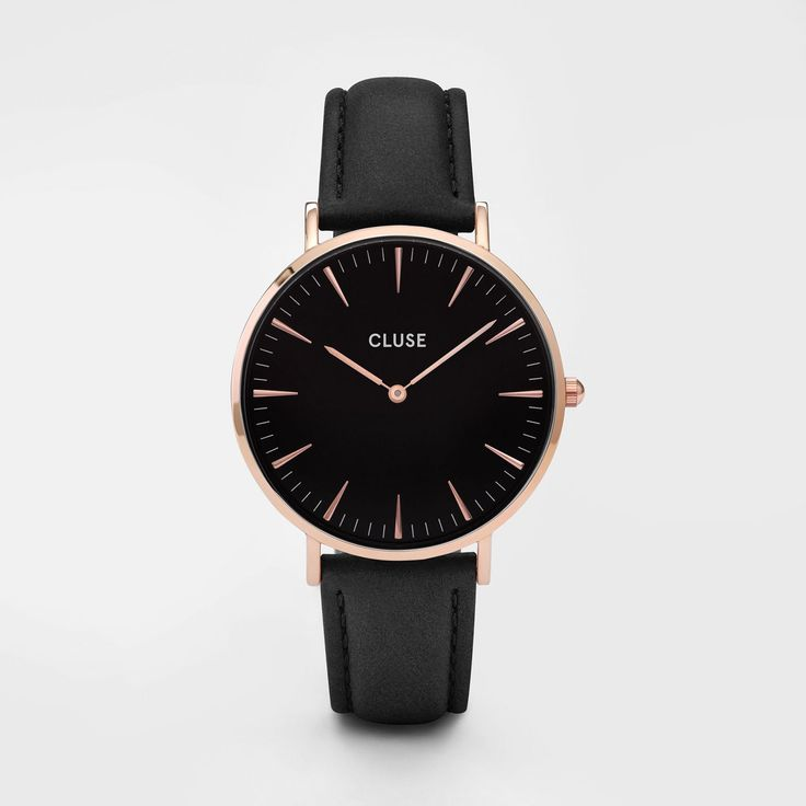 La Bohème Rose Gold Black/Black - Cluse Watches