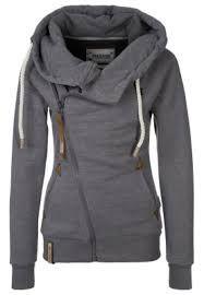 I want one like this sooo bad!!! nike grey side zipped hoodie - This hoodie though