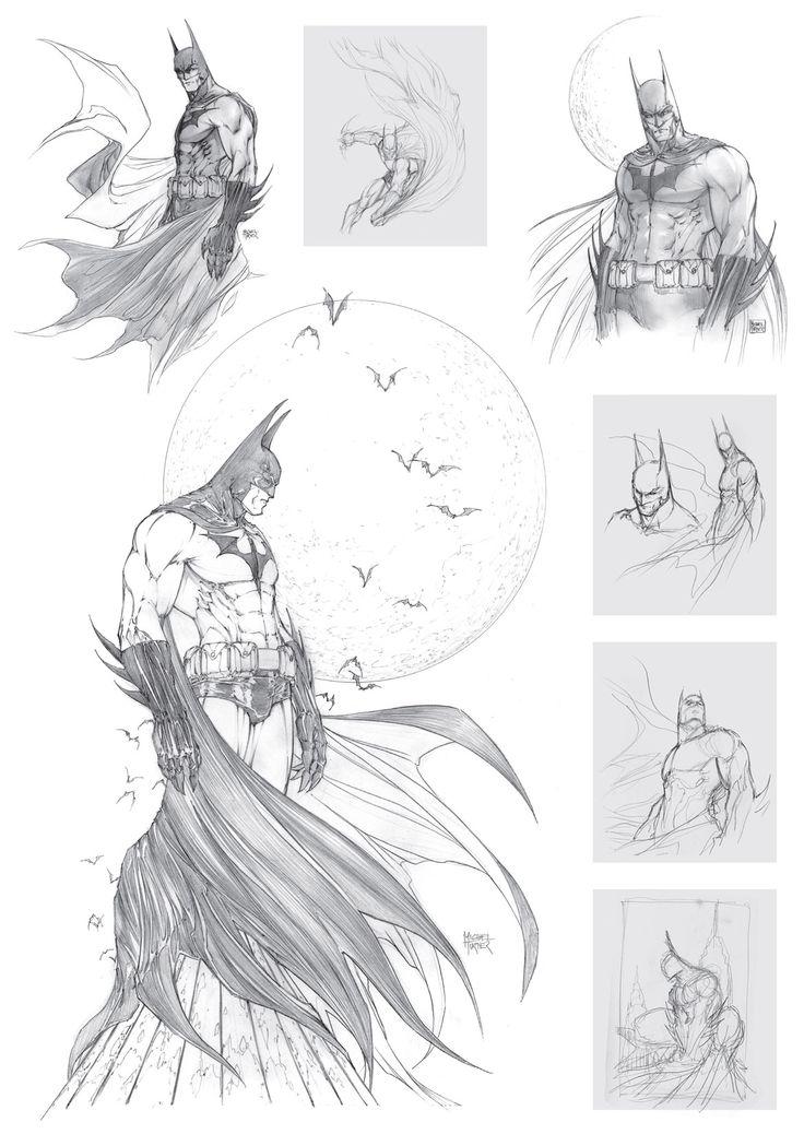 Michael Turner Sketch Book - The Heroic Years