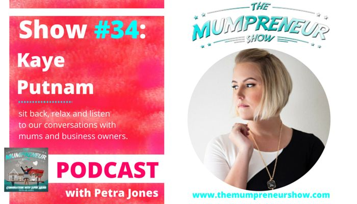 34. Kaye Putnam about branding and how you can communicate through branding