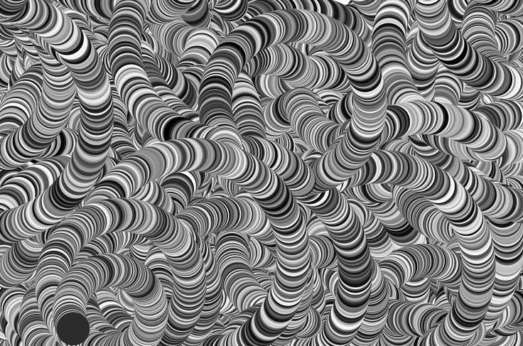 Generative art with #Processing - Simulating Koi fish Koi Fish Movement