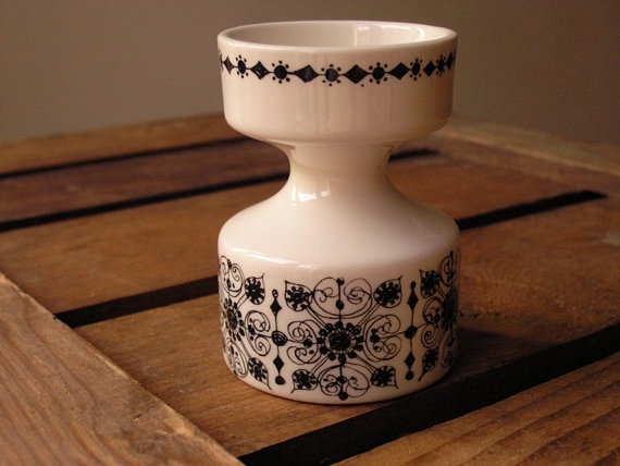 Vintage - Figgjo Flint candle holder by HuntersKitchen €20,00