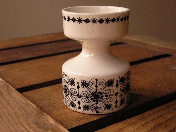 We love Vintage - Figgjo Flint candle holder by HuntersKitchen €20,00