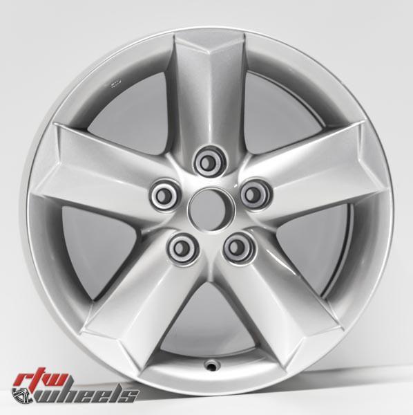 "16"" Nissan Rogue oem replica wheels 2010-2015 Silver rims - https://www.rtwwheels.com/store/shop/16-nissan-rogue-oem-replica-wheels-for-sale-silver-rims-aly62538u20n/"