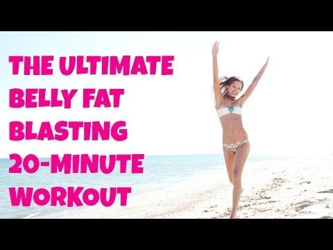 LOVE this one! The Ultimate Belly Fat Blasting Workout - Full Length 20-Minute Cardio and Abs Home Workout   Jessica Smith TV Fitness YouTube Workout Videos