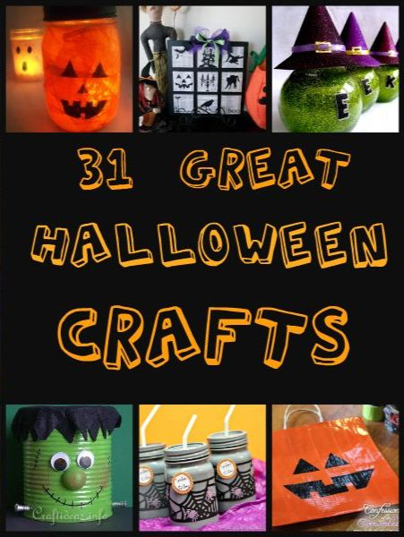 31 Awesome Halloween Crafts