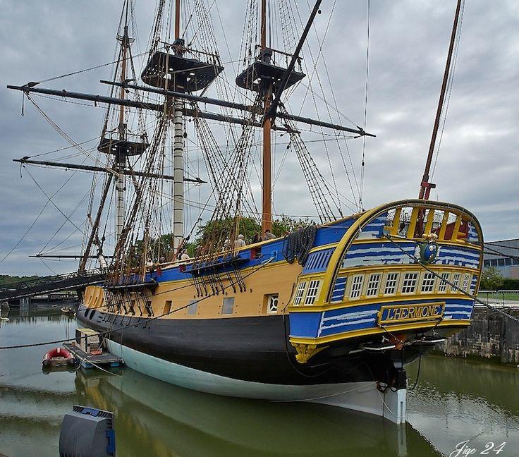 L'Hermione va rallier Bordeaux pour son premier voyage en mer