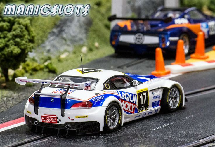 Slot Cars Scaleauto Bmw Z4 Gt3 Sc 6018 Team Englster