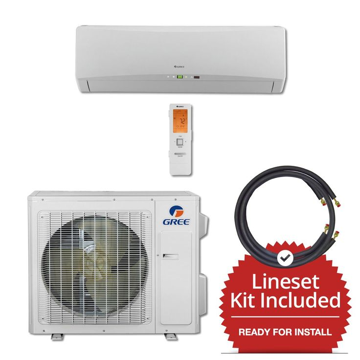 24 000 Btu 21 Seer Wall Mount Mini Split Air Conditioner
